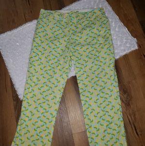 Lemon Lilly Pulitzer 🍋 Capri pants